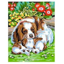 Sequin Art PAINTING BY NUMBERS JUNIOR-PAIRS Dogs (SA0214)