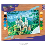 Фото Sequin Art PAINTING BY NUMBERS SENIOR Neuschwanstein Castle (SA0128)