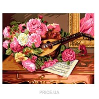 Sequin Art PAINTING BY NUMBERS SENIOR Romantic Bouquet (SA1037)
