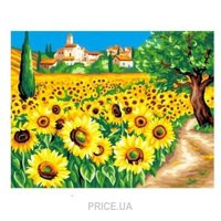 Фото Sequin Art PAINTING BY NUMBERS SENIOR Sunflowers (SA1333)