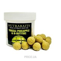 Nutrabaits Бойлы Pop-Up Trigga Pineapple & N-butyric 12mm